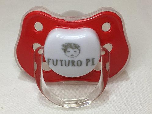 Chupete Futuro PI rojo