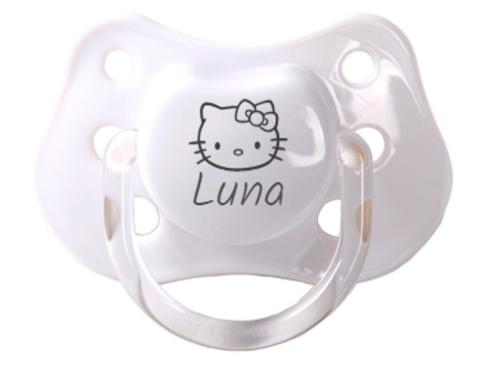 Chupete Hello Kitty + nombre