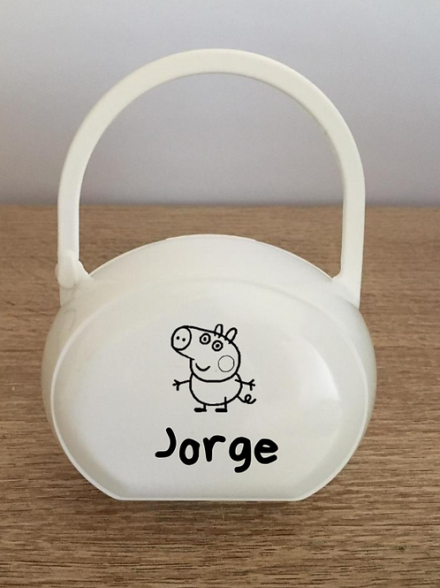 Caja George Pig + nombre