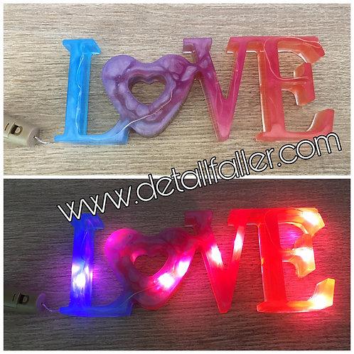 Love Resina Multicolor
