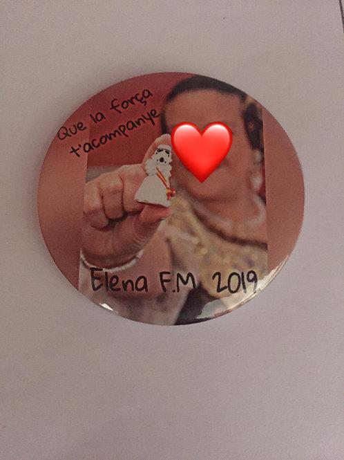 Foto Fallera Chapa, imán o espejo