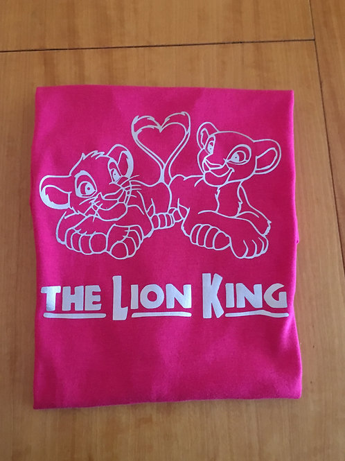 Camiseta Lion King