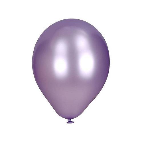 Pack 10 globos perlados lila