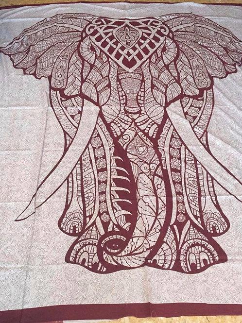 Tela Elefante Rojo