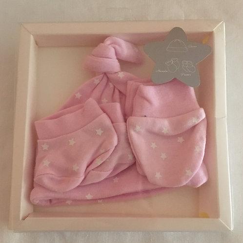 Kit recién nacido rosa