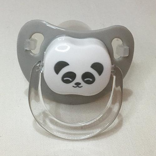 Chupete Panda gris