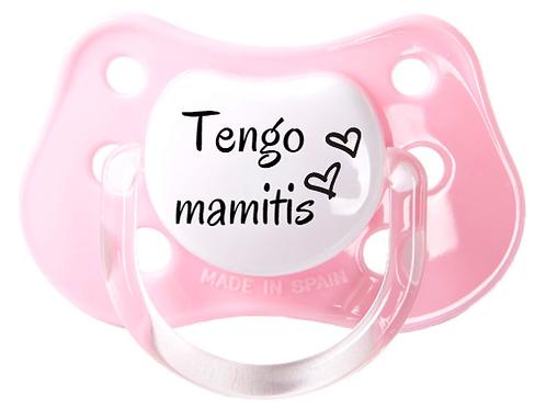 Chupete Tengo mamitis