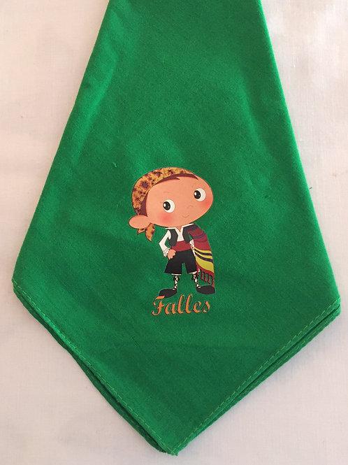 Pañuelo fallero verde