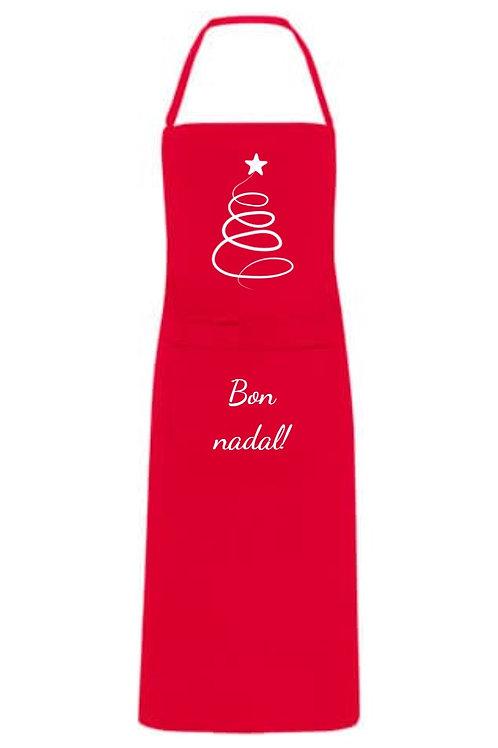 Delantal Bon Nadal!