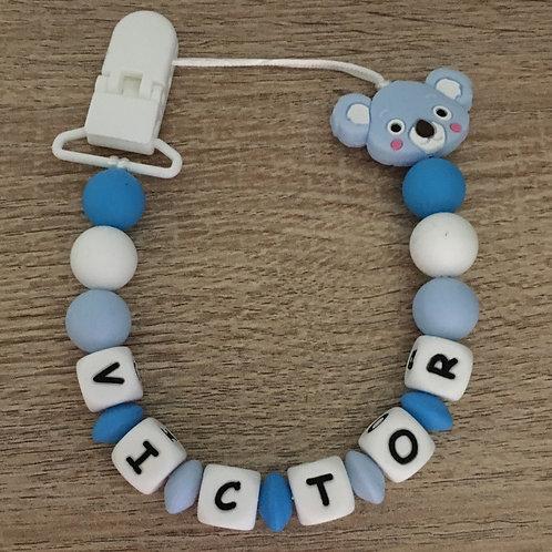Chupetero Koala Azul