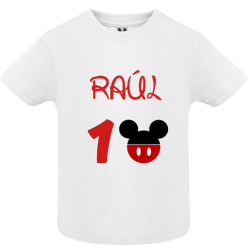 Camiseta Cumpleaños Mickey