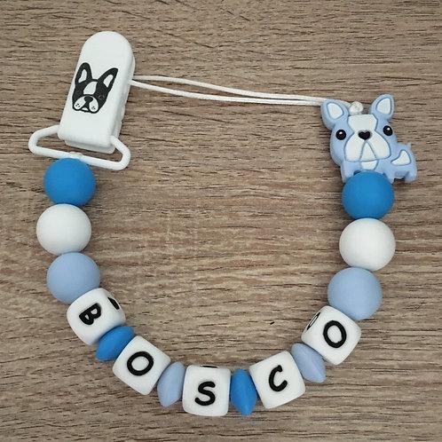 Chupetero Bulldog Azul