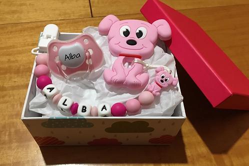 Cajita regalo rosa
