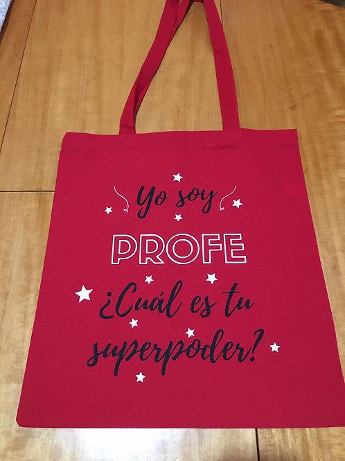 Bolsa Yo soy profe ¿Cuál es tu superpoder?