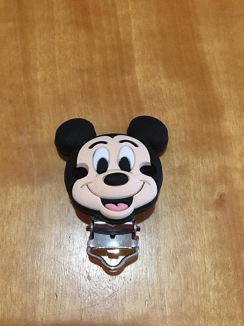 Pinza Silicona Mickey