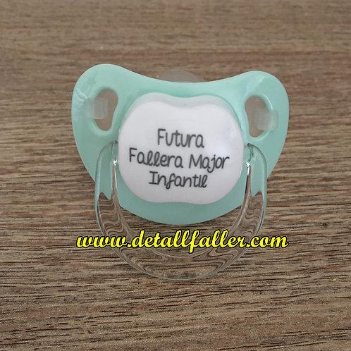 Chupete Futura Fallera Major Infantil