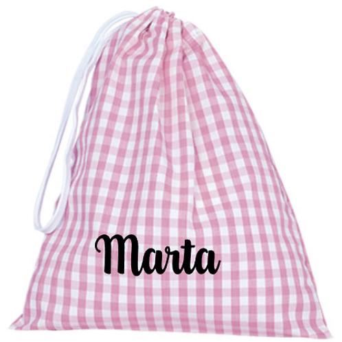 Bolsa/saquito para almuerzo/merienda personalizada varios colores