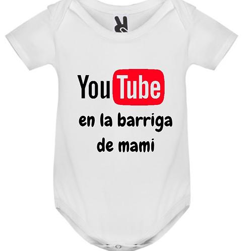 Body You Tube en la barriga de mami
