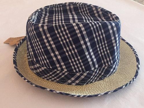 Sombrero fallero cuadros