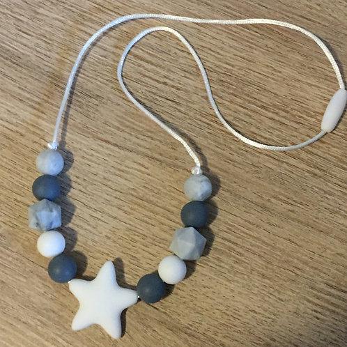 Collar Star Grey