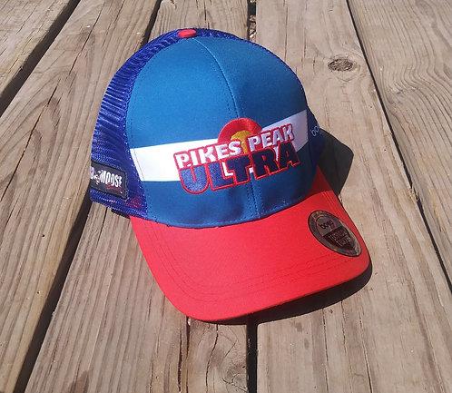Blue Mesh Pikes Peak Ultra Hat