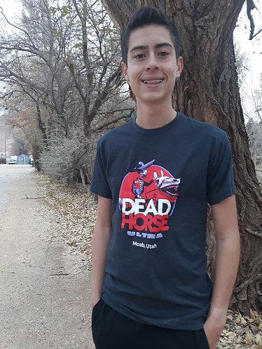 Short Sleeved Poly Blend Dead Horse Ultra Mens Shirts