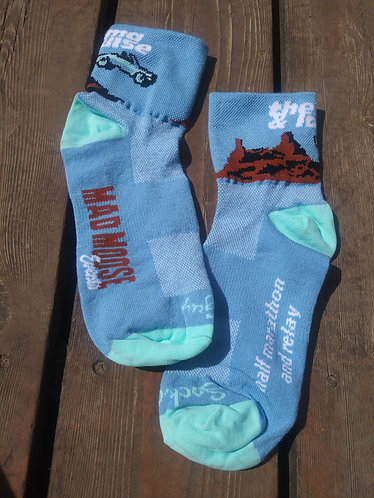 Women's Thelma and Louise Half Marathon and Relay Socks