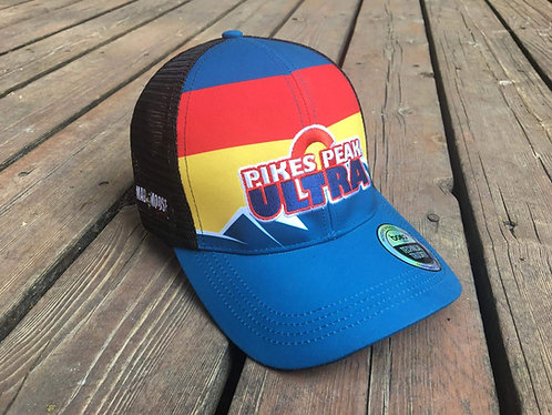 Black Mesh Pikes Peak Ultra Hat
