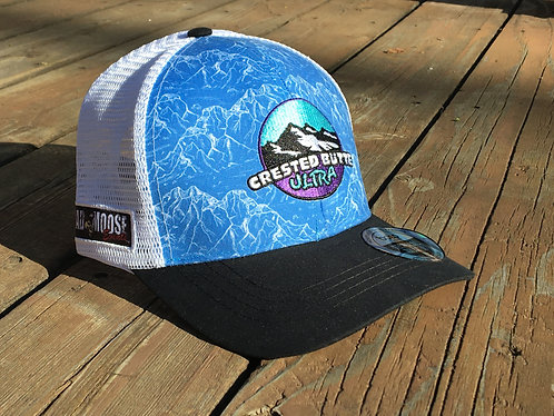 Crested Butte Ultra Hat Blue/White