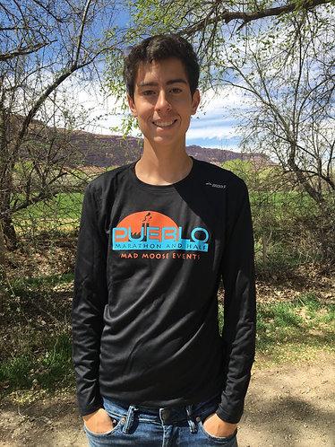 Pueblo Marathon and Half Black Long Sleeve