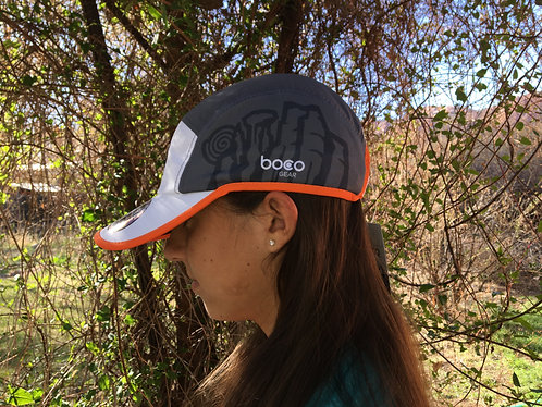Canyonlands Half Marathon Run Hat White/Grey
