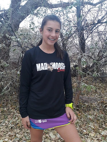 Long Sleeved Tech Mad Moose Womens Shirts