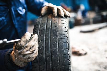 tire repair, wheel balancing