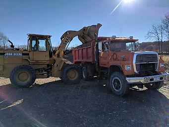 heavy machinery trucking