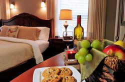 Fresh fruit basket in each room upon arr