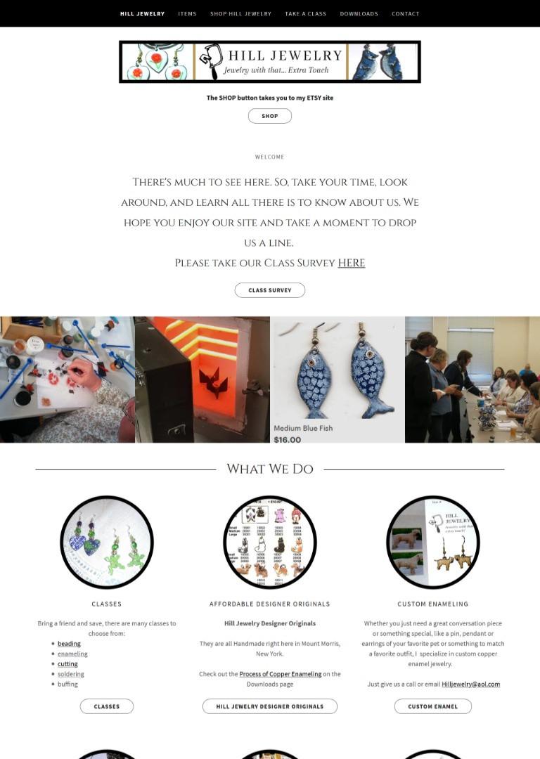 Pam Hill Jewelry