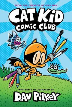Cat Kid Comic Book