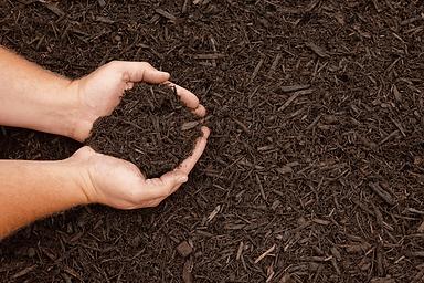 bluk and bagged garden mulch