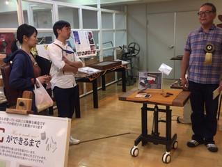 モノマチの革財布職人ツアーに参加致しました。