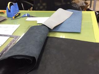 本革レザーのブックカバーを作成するの巻き レザークラフト