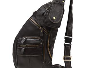 本革 レザー ボディバッグ メンズ 斜め掛け 8ポケット バッグ をリリース致しました。