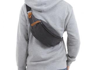 本革 スエード ウエストバッグ ウエストポーチ メンズ レディース 帆布 キャンバス 2WAY バッグ 全3色