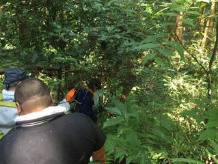 サバイバル地図判読で、藪の中を突き進むの巻き 狩猟ビジネス学校