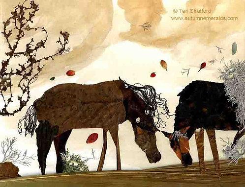 Sandstorm and Horses