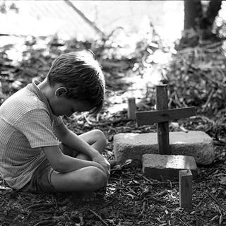 Patrick, a bird's grave 1978