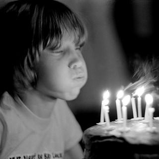 Liz' 11th birthday 1980