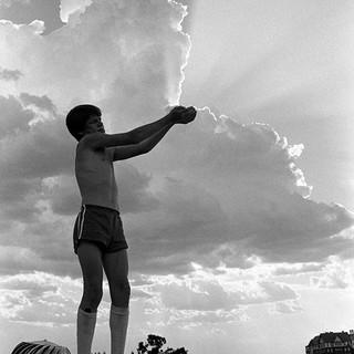 Joe on the roof 1979