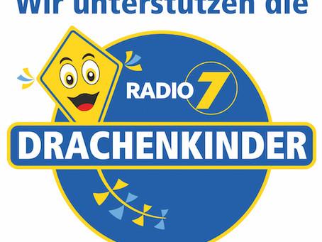 Weihnachtsaktion 2019 für die Radio 7 Drachenkinder