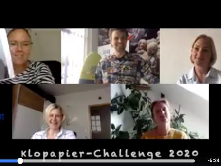 Klopapier-Challenge 2020