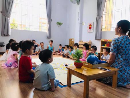 Sinh nhật Montessori